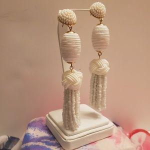 BaubleBar Beaded Tassel Earrings